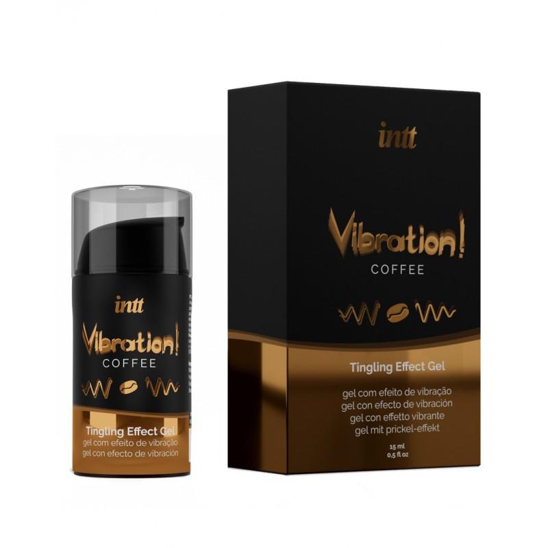 巴西Intt Vibration 液體震蛋Gel 15ml((咖啡 可口交))