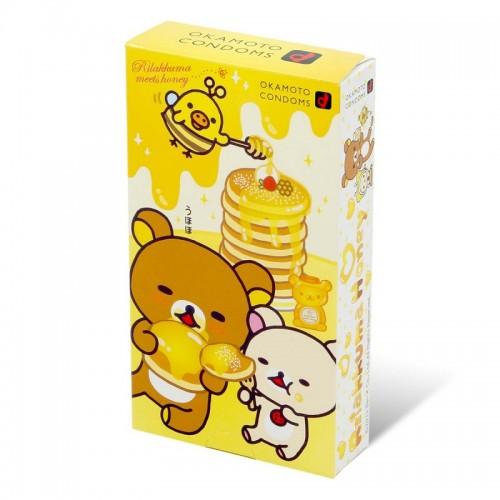 岡本 鬆弛熊蜂蜜 10片裝