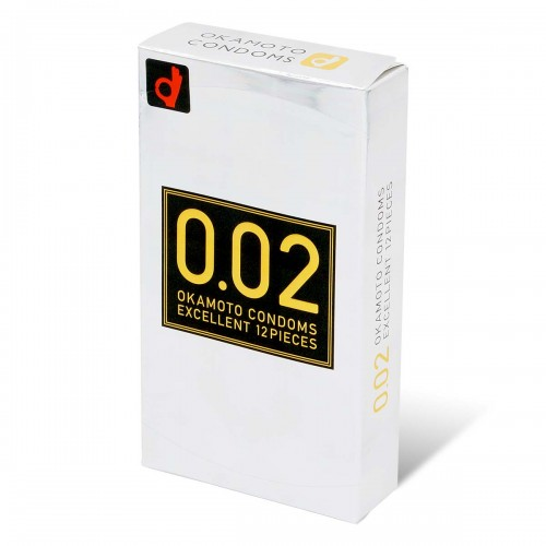 岡本 薄度均一 0.02EX (日本版) 12片裝