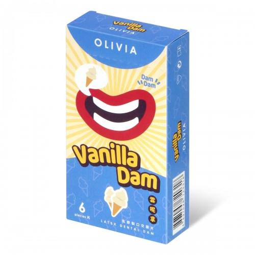 奧莉維亞 雲呢拿香味 6 片口交膜片