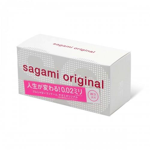 Sagami相模原創0.02特薄安全套-20片