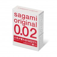 Sagami相模原創0.02特薄安全套-2片