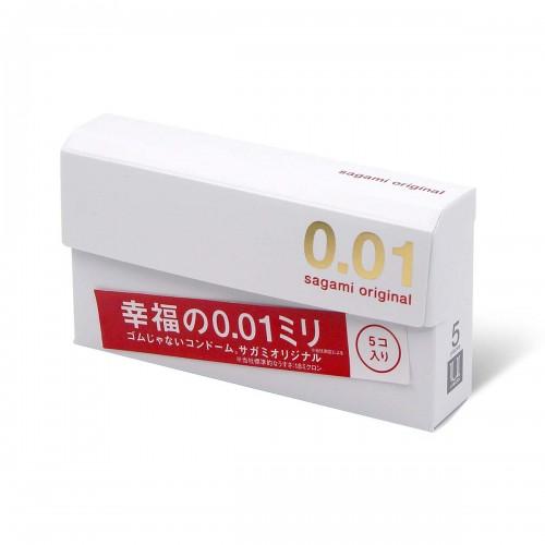 Sagami相模原創0.01超薄安全套-5片