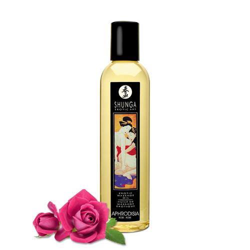 SHUNGA 情愛香味按摩油-玫瑰香氣
