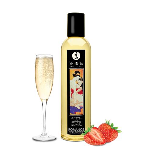 SHUNGA 情愛香味按摩油-草莓香檳