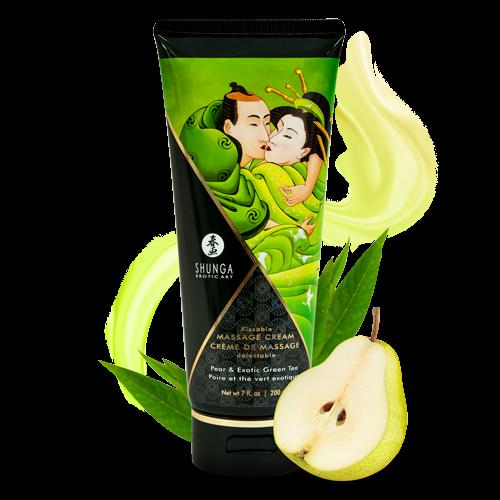 SHUNGA 可食用按摩乳霜-梨香綠茶