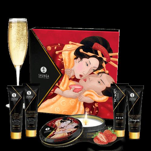 SHUNGA 藝妓的秘密草莓汽酒禮盒套裝