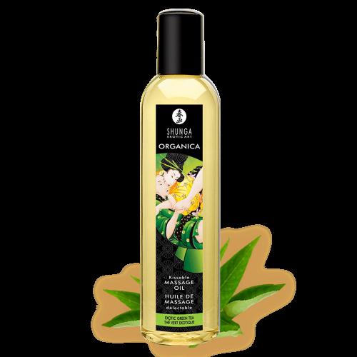 SHUNGA有機植物按摩油-異國水果綠茶